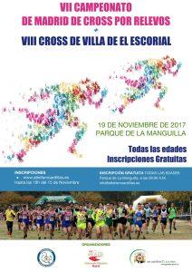 Campeonato de Madrid de Relevos de Cross y Cross de El Escorial 2017