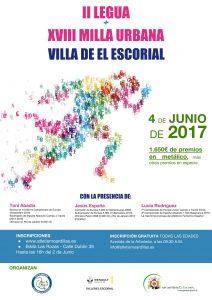 Cartel Milla El Escorial 2017 (Final)