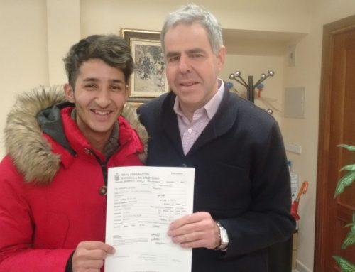 Karim El Hayani vuelve al Club de Atletismo Las Ardillas de El Escorial