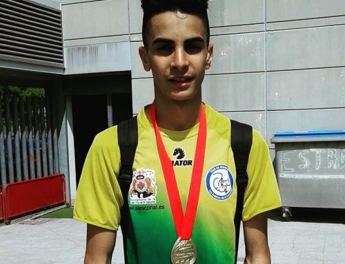 Anas Serroukh Campeón de Madrid en el 3000 metros lisos