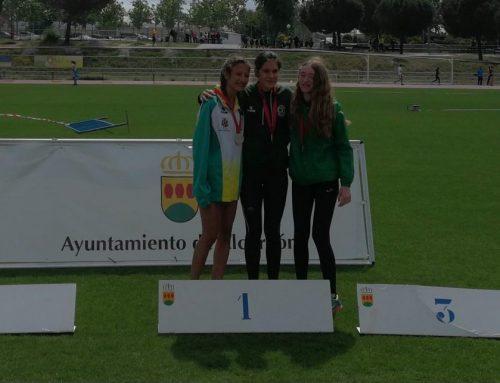 Rocío consigue el subcampeonato de Madrid sub16 en los 3000 metros lisos