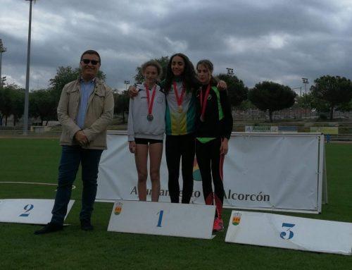 Fátima, campeona de Madrid sub16 en los 600 metros lisos