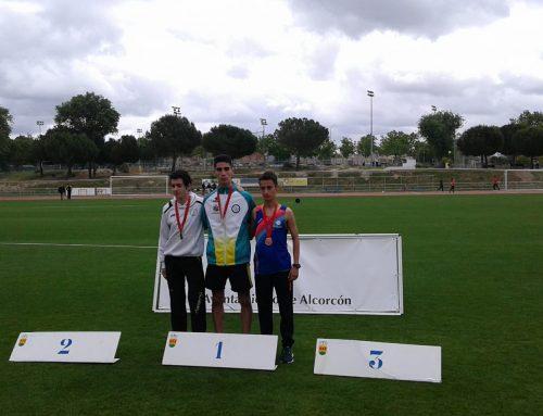 Hicham, Campeón de Madrid en los 5000 metros lisos sub20
