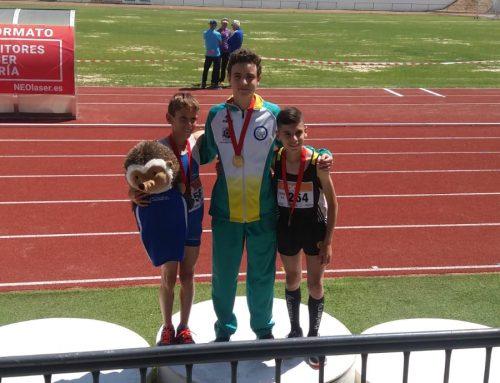 Nico, Campeón de Madrid en los 3000 metros lisos