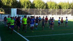 Primer entrenamiento Polideportivo