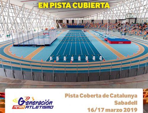 XXXII CAMPEONATO DE ESPAÑA SUB16 Y CAMPEONATO DE MADRID MINI-BENJAMÍN, BENJAMÍN Y ALEVÍN. EN PISTA CUBIERTA.